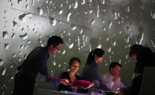 au.ibtimes.com nuotr. / Restoranas Ultraviolet Šanchajuje