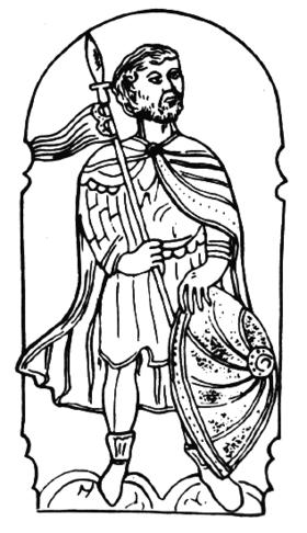 Lietuvos didysis kunigaikštis, stačiatikių vienuolis Vaišelga Mindaugaitis