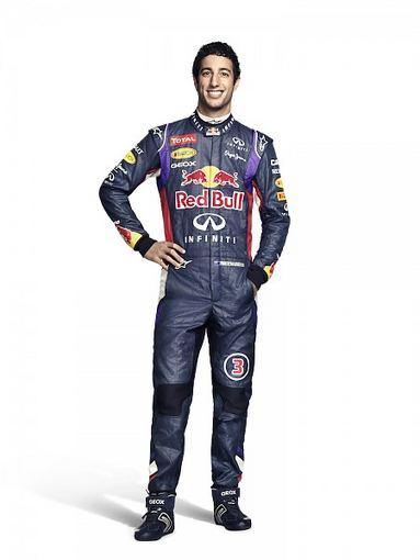 """Red Bull"" nuotr./Danielis Ricciardo"