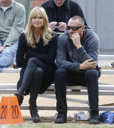 AOP nuotr./Heidi Klum ir Martinas Kirstenas