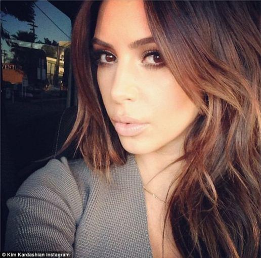 """Instagram"" nuotr./ Kim Kardashian"