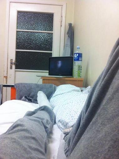 Asmeninio albumo nuotr./Tomas Uroška ligoninėje