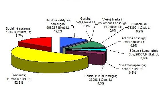 Kauno miesto biudžetas 2014