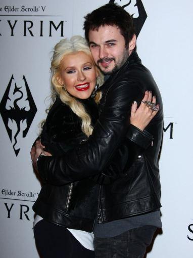 AOP nuotr./Christina Aguilera ir Matthew Rutleris
