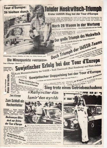 "Asmeninio archyvo nuotr./1974 m. ""Tour d'Europe"""