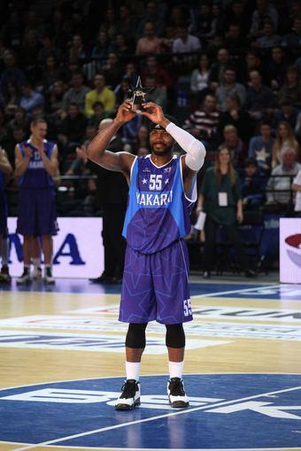 Tomo Pikturnos nuotr./Justinas Dentmonas tapo naudingiausiu LKL Žvaigždžių dienos krepšininku.