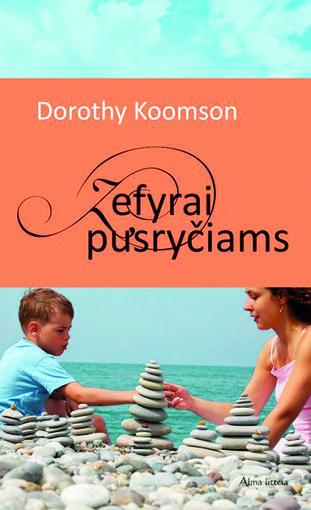 """Knygos viršelis/Dorothy Koomson romano """"Zefyrai pusryčiams"""" viršelis"""