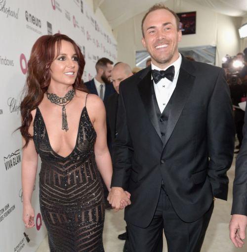 "AFP/""Scanpix"" nuotr./Britney Spears ir Davidas Lucado"