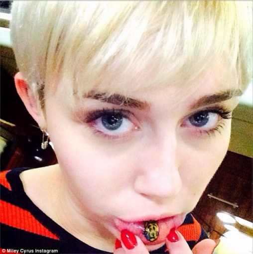 Instagram nuotr./Miley Cyrus