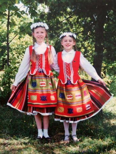 Asmeninio albumo nuotr./Inga Stumbrienė 12-os metų