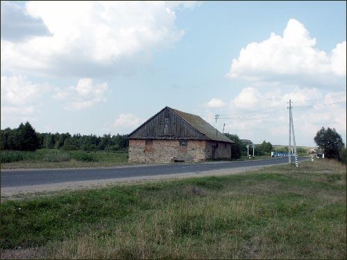 Moravskių gvaro Zaušėje pastatai