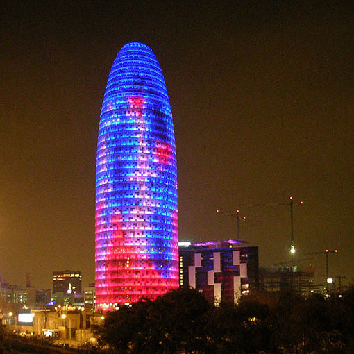 Wikimedia.org nuotr./Torre Agbar pastatas