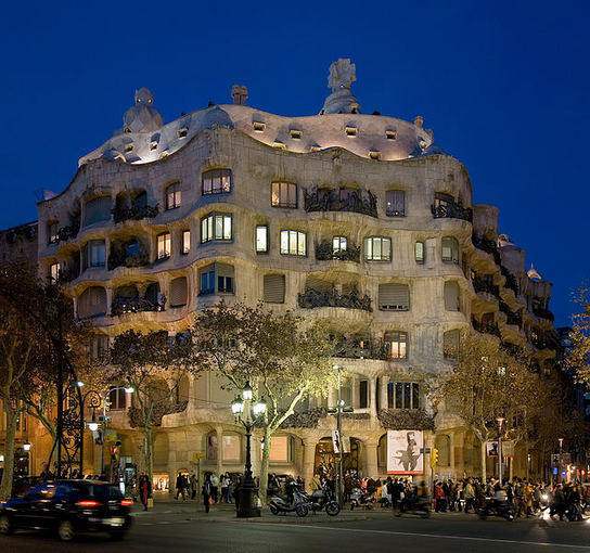 Wikimedia.org nuotr./Casa Milà Barselonoje