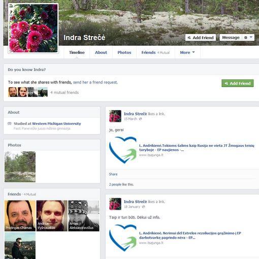 Ryčio Zalogos blogas/FB/Indra Strečė