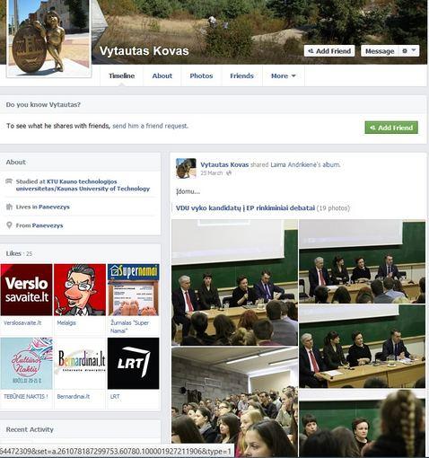 Ryčio Zalogos blogas/FB/Vytautas Kovas