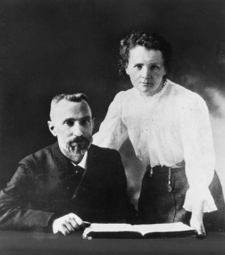 wikimedia.org nuotr./Pjeras ir Marija Kiuri2