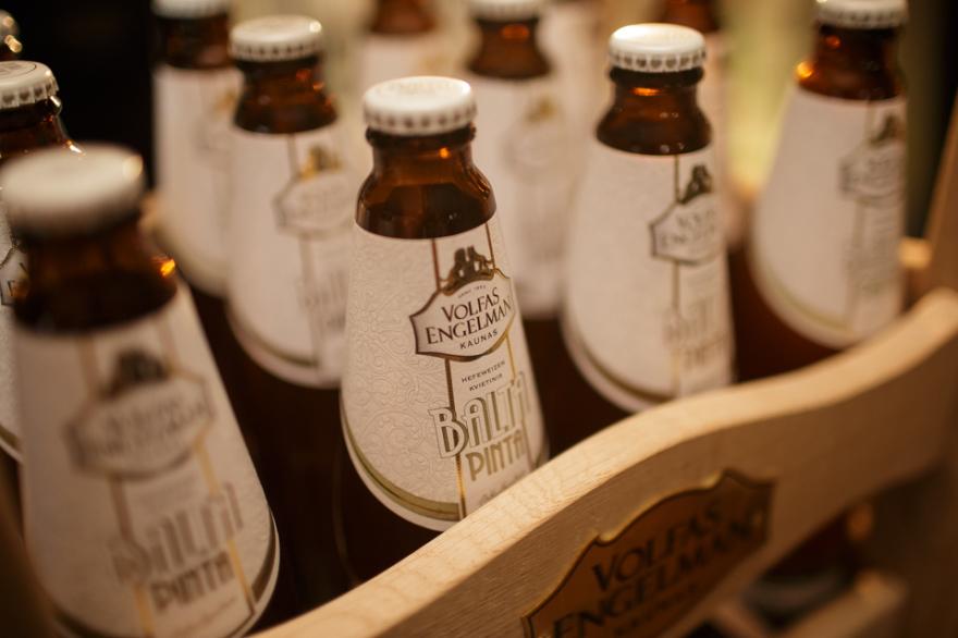 Изображение литовского пива Volfas Engelman.