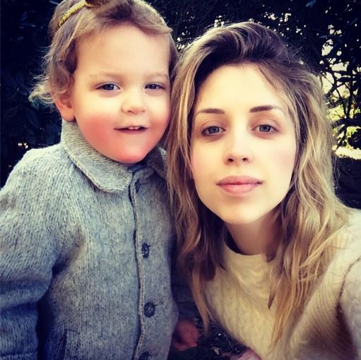 """Instagram"" nuotr./Peaches Geldof su sūnumi Astala"