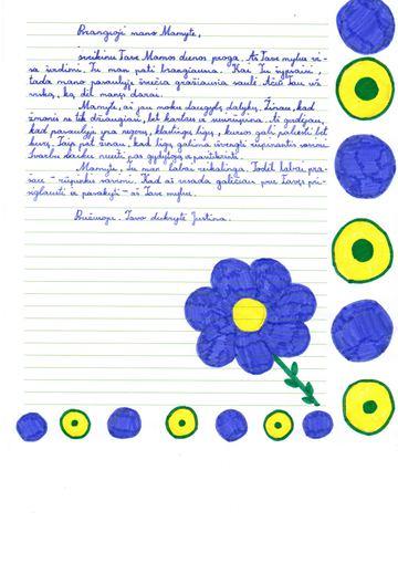 laiškas 1