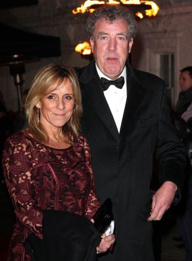 AOP nuotr./Jeremy Clarksonas su žmona Frances