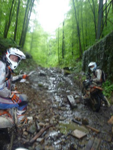 Komandos nuotr./Motociklininkai Rumunijoje