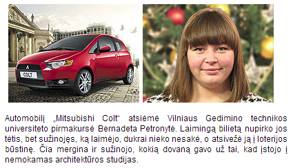 Bernadeta Petronytė laimėjo