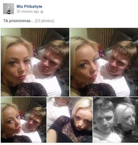 """""""Facebook"""" nuotr./Mia ir Edgaras Jankauskas"""