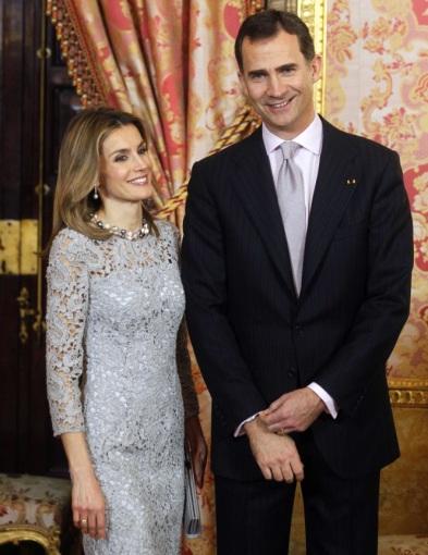"""Scanpix""/""Sipa Press"" nuotr./Princas Felipe ir princesė Letizia"