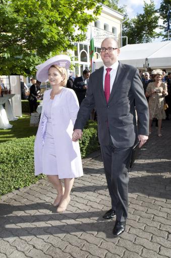 Mariaus Žičiaus/Žmonės.lt nuotr. /Davidas Huntas su žmona Sarah