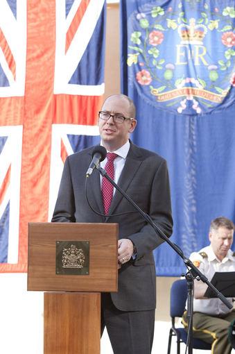 Mariaus Žičiaus/Žmonės.lt nuotr. /Jungtinės Karalystės ambasadorius Lietuvoje Davidas Huntas