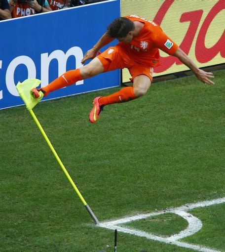 """""""Reuters""""/""""Scanpix"""" nuotr./Nyderlandai stebuklingai išplėšė pergalę iš Meksikos rankų"""