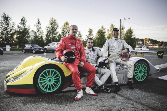 Iš kairės: Deividas Jocius, Vytautas Švedas ir Ramūnas Čapkauskas