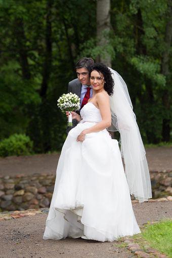 """TV3 nuotr./Socialinio eksperimento """"Aklos vestuvės"""" dalyviai Indrė ir Lukas"""