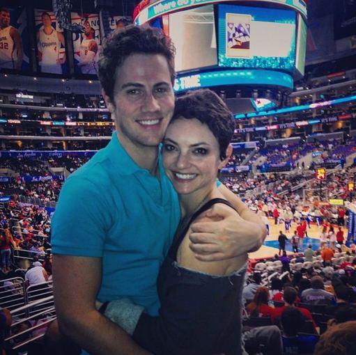 """Instagram"" nuotr./Jocelyn Binder su širdies draugu 2014-ųjų kovą"