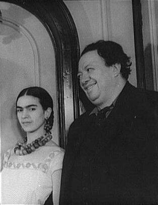 wikimedia.org/Frida Kahlo ir Diego Rivera, 1932 m.