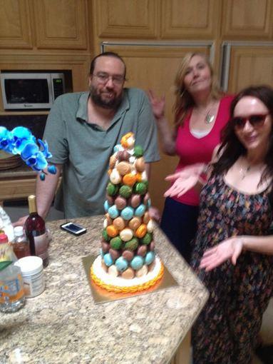 Doyle'o Brunsono šeima per gimtadienį