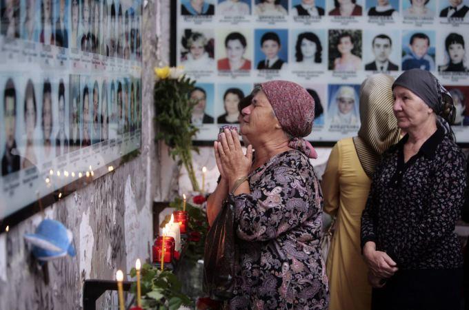 Beslano tragedijos aukų memorialas
