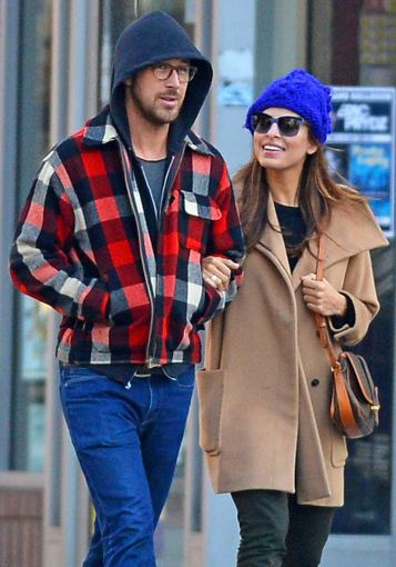 AOP nuotr./Eva Mendes ir Ryanas Goslingas