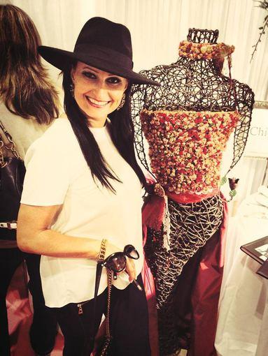 Asmeninio albumo nuotr./Inga Budrienė lankėsi Londone vykusioje vestuvių parodoje