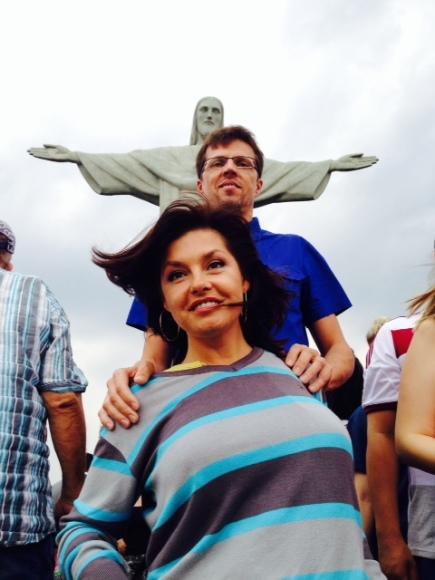 Asmeninio albumo nuotr./Kristina ir Vygintas Kaikariai Brazilijoje