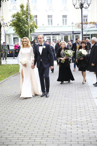 Viganto Ovadnevo/Žmonės.lt nuotr./Ernestas Butrimas ir Jurgita Alsytė