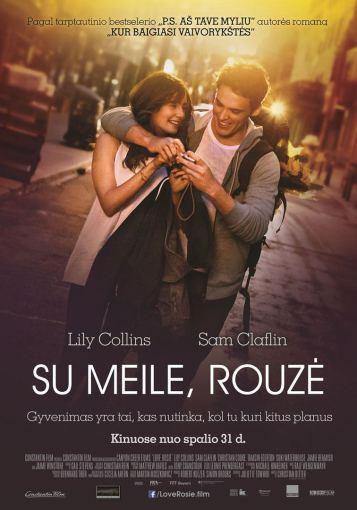 """""""ACME Film"""" archyvo/Filmo """"Su meile, Rouzė"""" plakatas"""