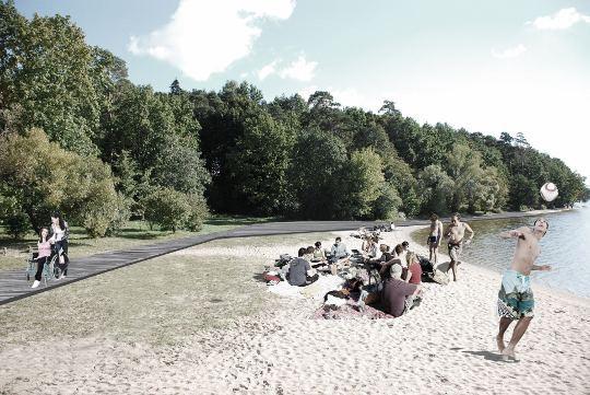 Pabudęs Kauno marių paplūdimys poilsiauti kvies visus