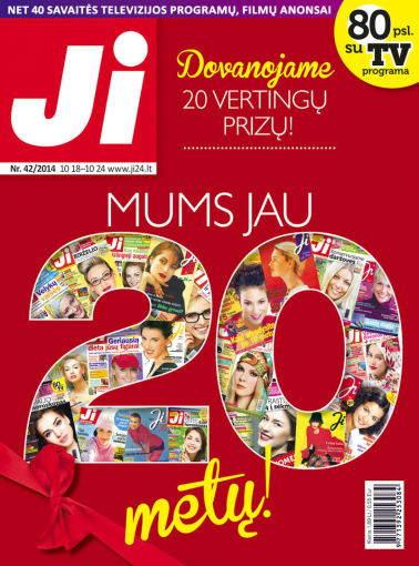 """Redakcijos archyvo nuotr./2014 m. spalio mėnesio žurnalo """"Ji"""" Nr. 42"""
