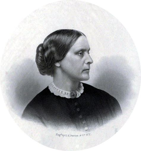 wikimedia.org nuotr./Susan Brownell Anthony (1820.02.15–1906.03.13)