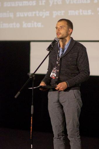 Viktoro Volkovo nuotr./Festivalio vadovas Gediminas Andriukaitis