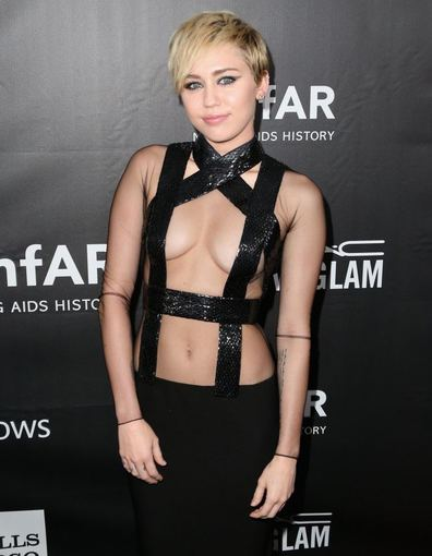 "AFP/""Scanpix"" nuotr./Miley Cyrus"