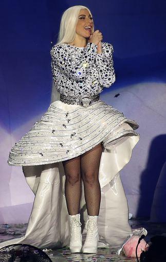 AOP nuotr./Lady Gagos koncertas Milane