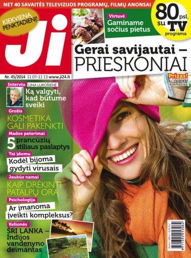 """Redakcijos archyvo nuotr./2014 m. spalio mėnesio žurnalo """"Ji"""" Nr. 45"""