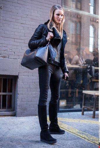 """""""Scanpix"""" nuotr./Tipinis modelio stilius Niujorke."""